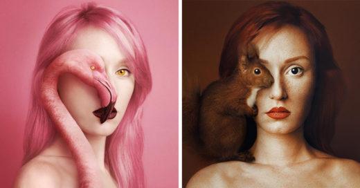 15 Fotografías que comprueban el hermoso parecido entre humanos y animales