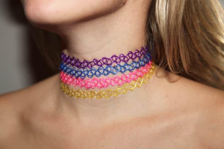 gargantillas de colores