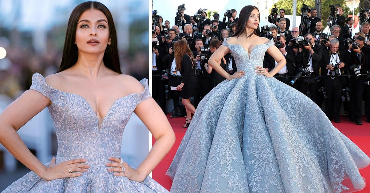 Ella es la actriz que enamoró en Cannes con vestido inspirado en Cenicienta