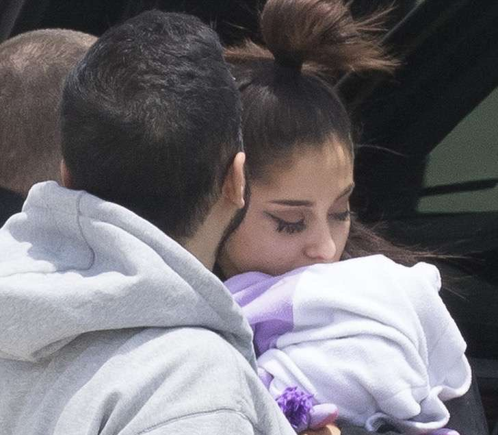 Ariana grande después del atentado
