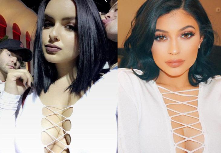 Ariel Winter copia el estilo de Kylie Jenner
