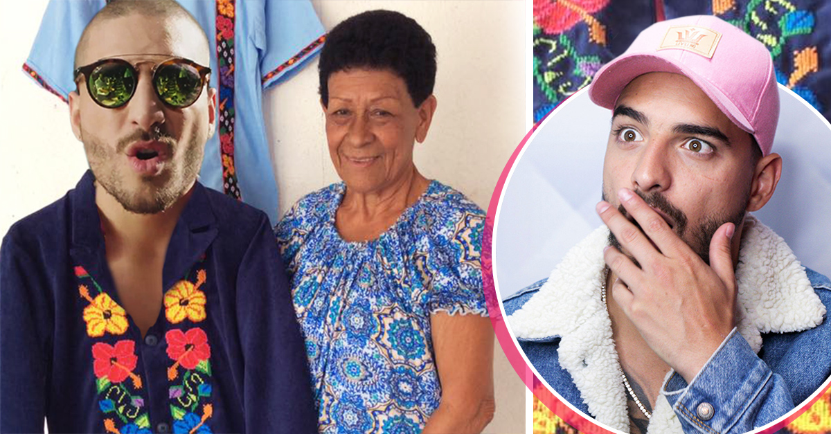 Artesana del bordado viste a Maluma... las fans mexcianas mueren de envidia