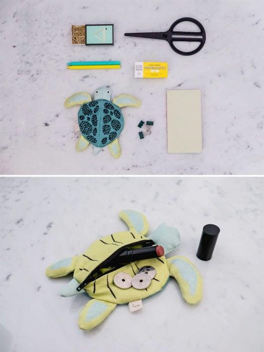 bolso de tortuga