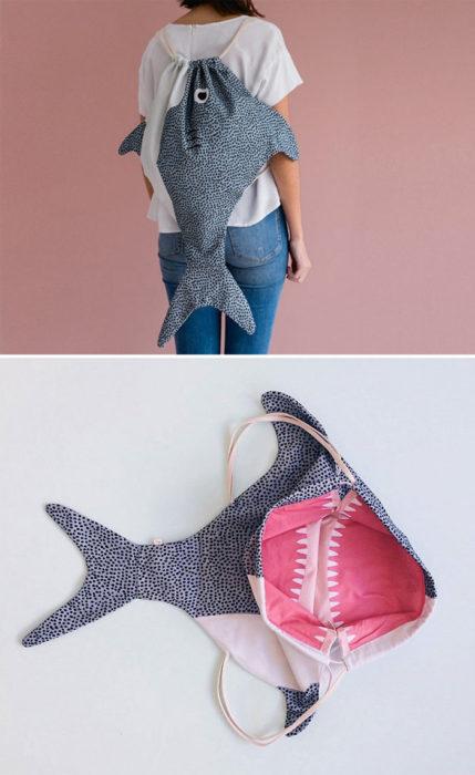bolso tiburón
