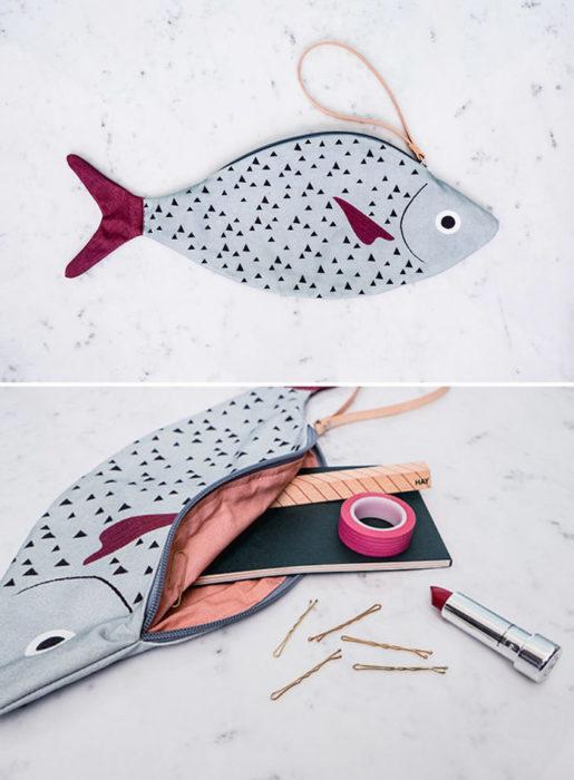 bolso pez atún
