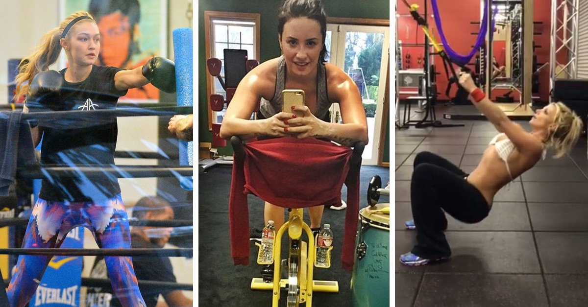 Celebridades que inspiran con sus rutinas de ejercicio