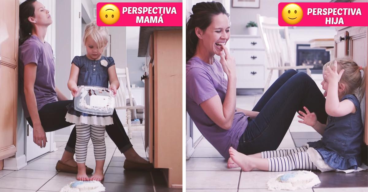 Como se ve el día desde la perspectiva de madre e hija