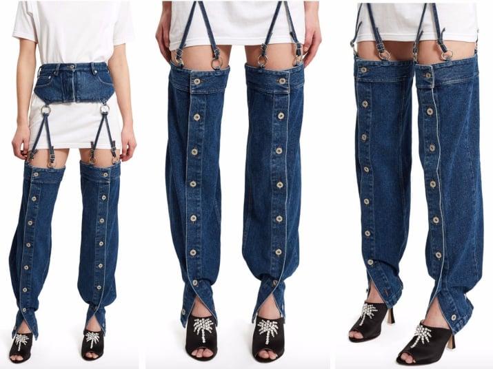 Jeans que son horribles
