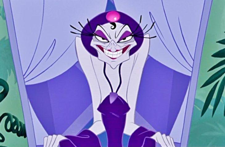 caricatura izma villanos de Disney