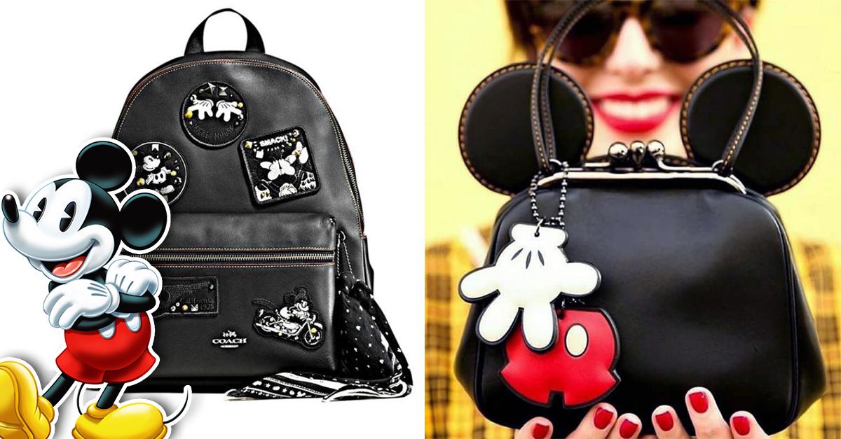 Disney y Coach colaboran en línea inspirada en Mickey Mouse; ¡esta vez a un precio accesible!