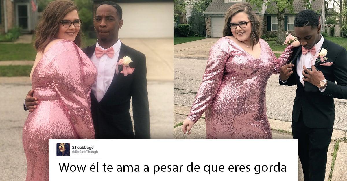 Este chico defendió a su novia cuando alguien se burlo de su peso