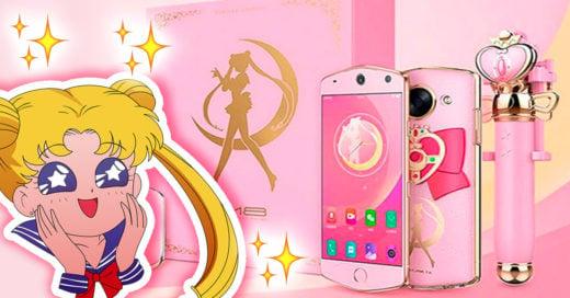 ¡Lanzan smartphone inspirado en Sailor Moon!... Una razón más para no madurar