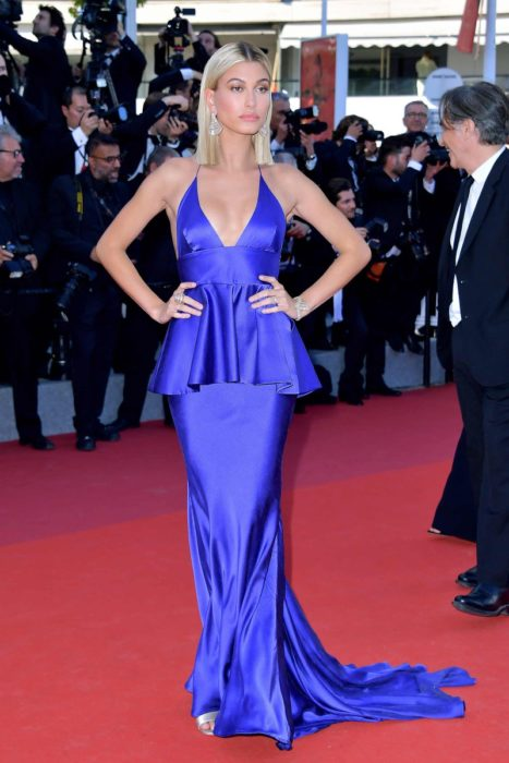 Hailey Balwin en cannes