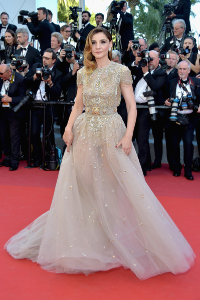 Clotilde Courau en cannes