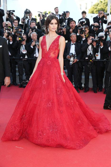 Sara Sampaio en Cannes
