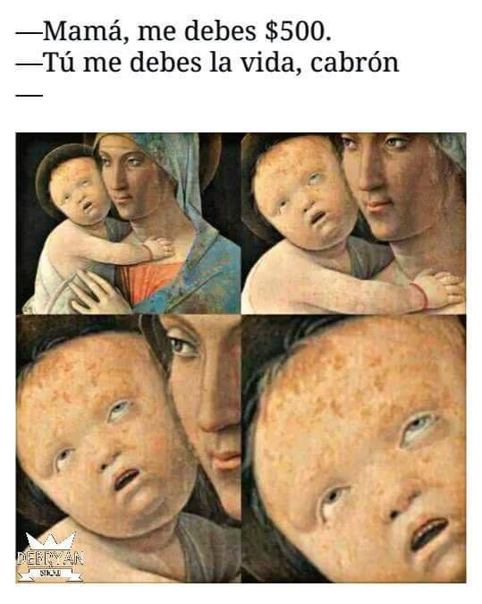 Memes con obras de arte