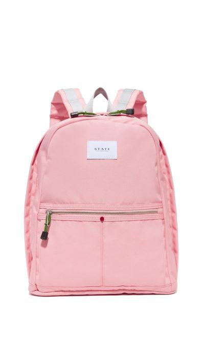 Mochila de color rosa