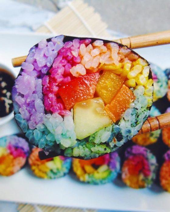 sushi unicornio
