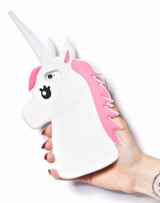 funda unicornio