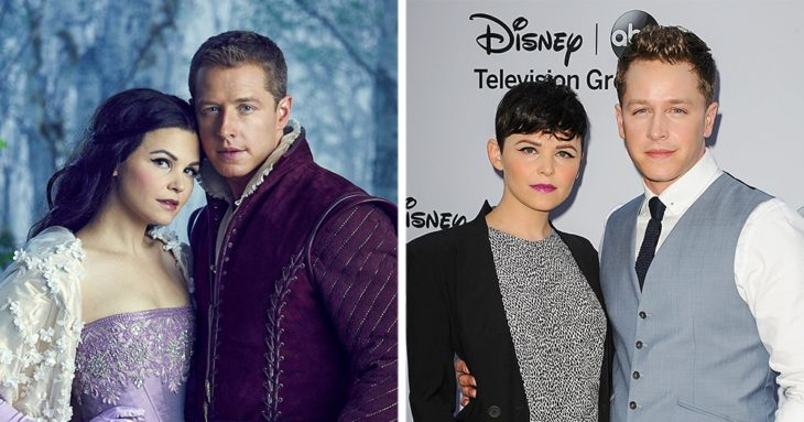 9. Joshua Dallas y Ginnifer Goodwin