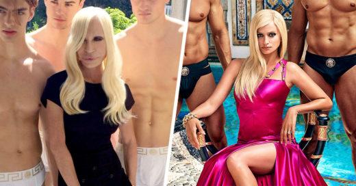 la primera imagen de Penélope Cruz como Donatella Versace