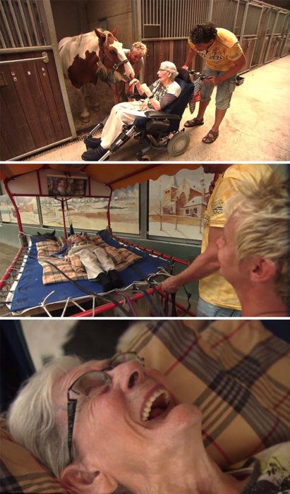 anciana riendo