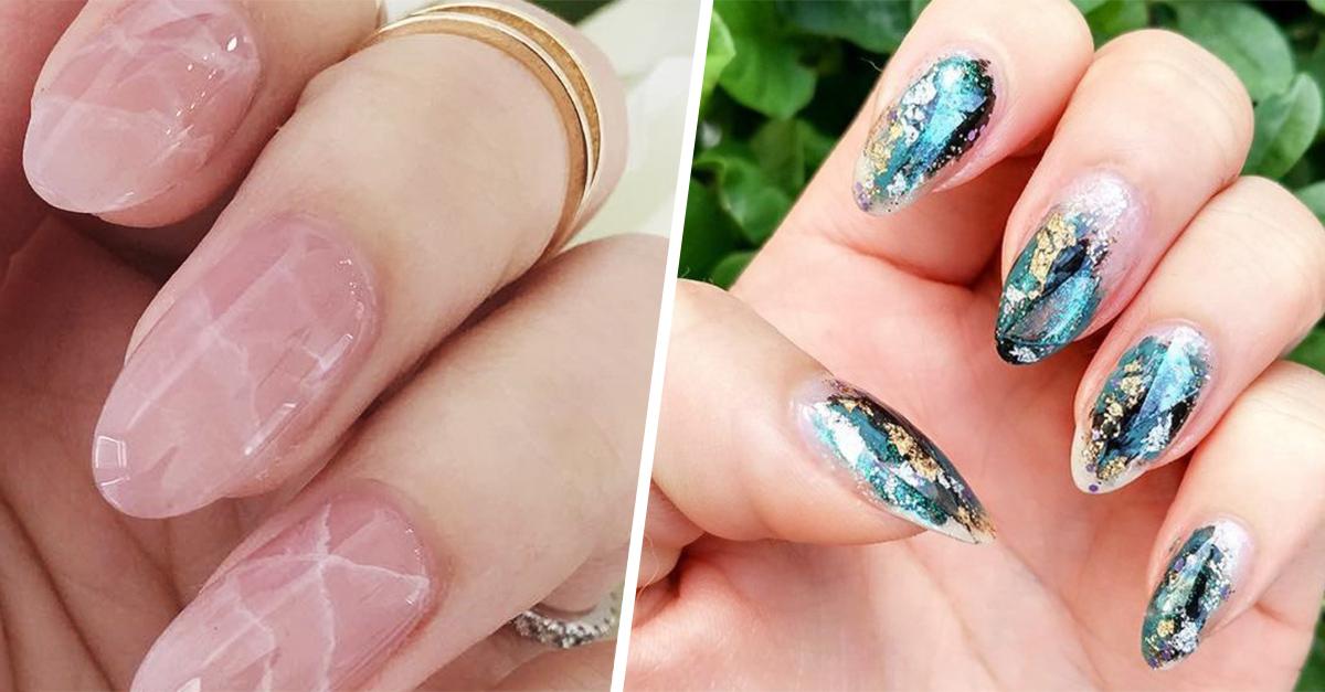 Opciones para lucir en tus uñas la nueva tendencia: el estilo cuarzo
