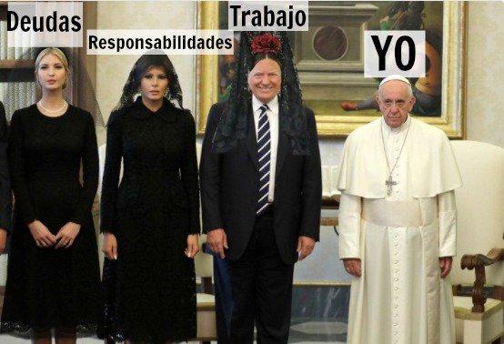 Reacciones de la visita de Trump al Papa Francisco