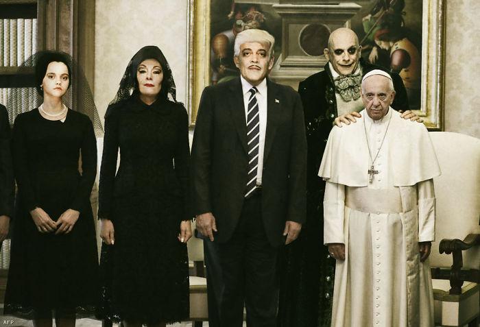 Reacciondes de la visita de Trump al Papa Francisco