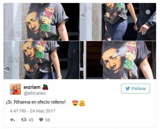 Comentarios twitter Rihanna