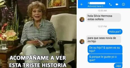 Mamá le busca novia a su hijo por Facebook y se vuelve viral