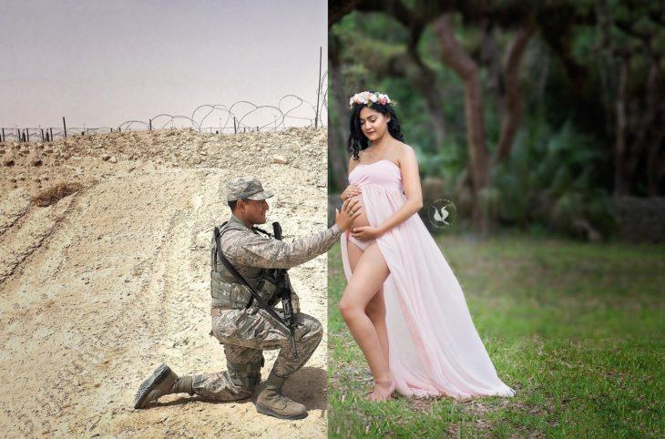 Seisón de fotos embarazo