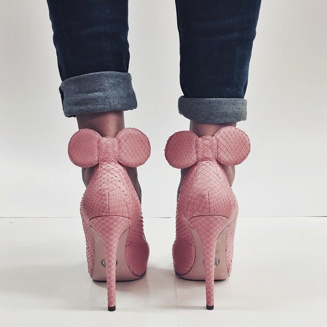 Tacones Minnie