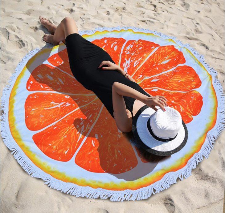 toalla circular