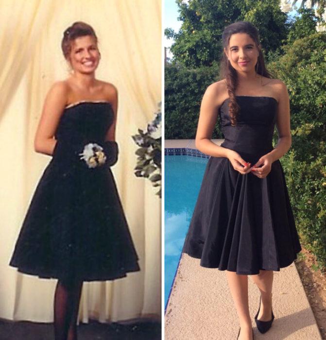 Vestido mamá graduación