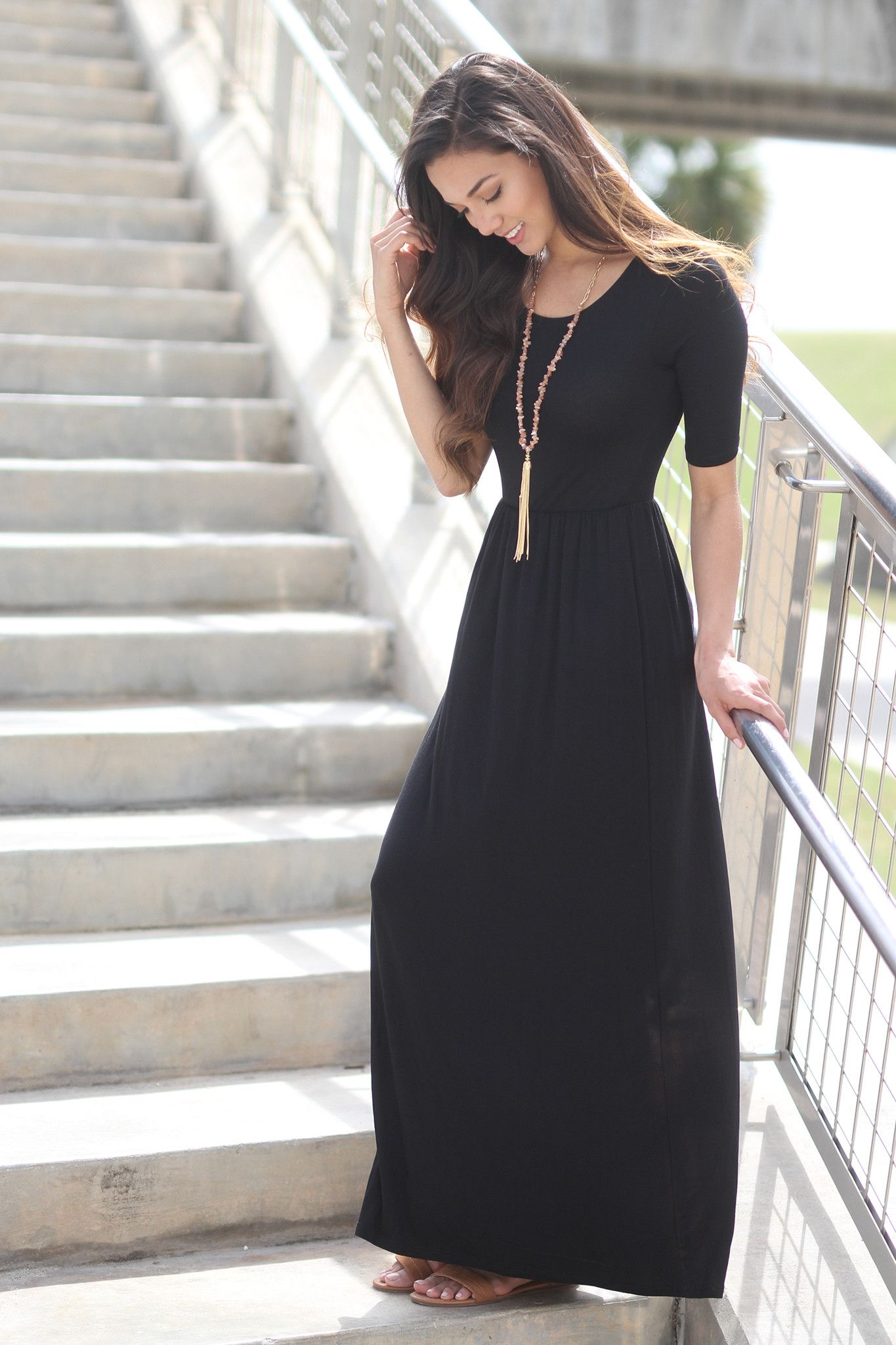 69c76ce6ca9ac 15 Vestidos negros casuales que necesitas en tu guardarropa