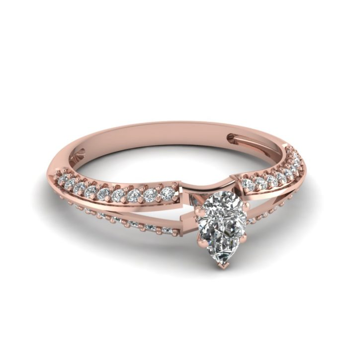 anillo compromiso rose gold 11