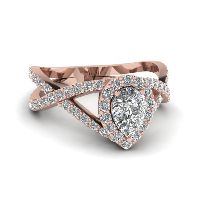 anillo compromiso rose gold 12