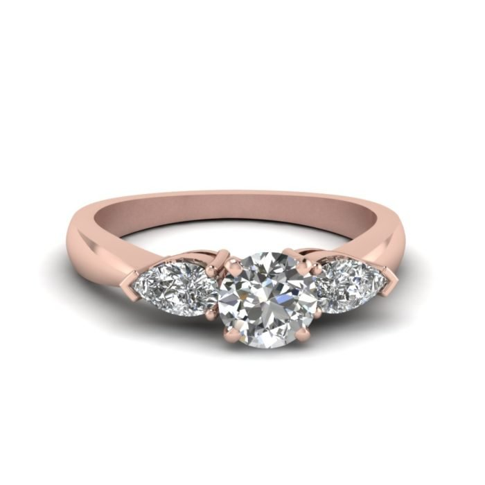 anillo compromiso rose gold 3