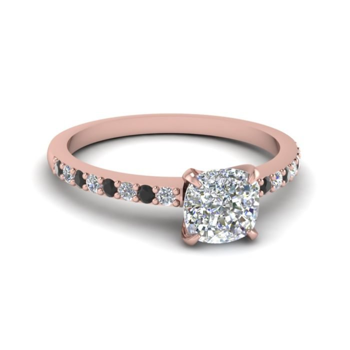 anillo compromiso rose gold 9