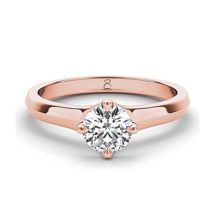 b308e6696f84 15 Diseños de anillos de compromiso de oro rosado que deseas