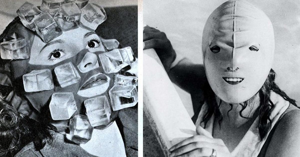 15 Artículos de belleza vintage que parecen de película de terror