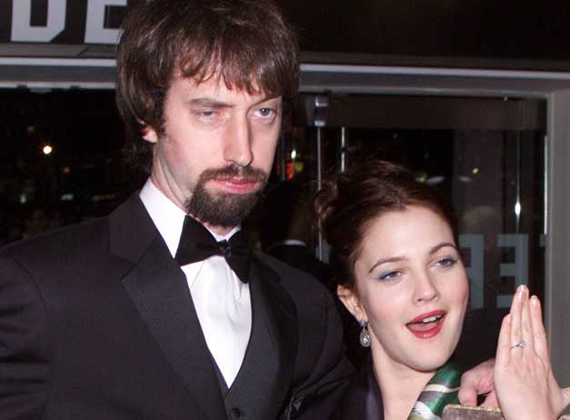 Drew Barrymore y Tom Green