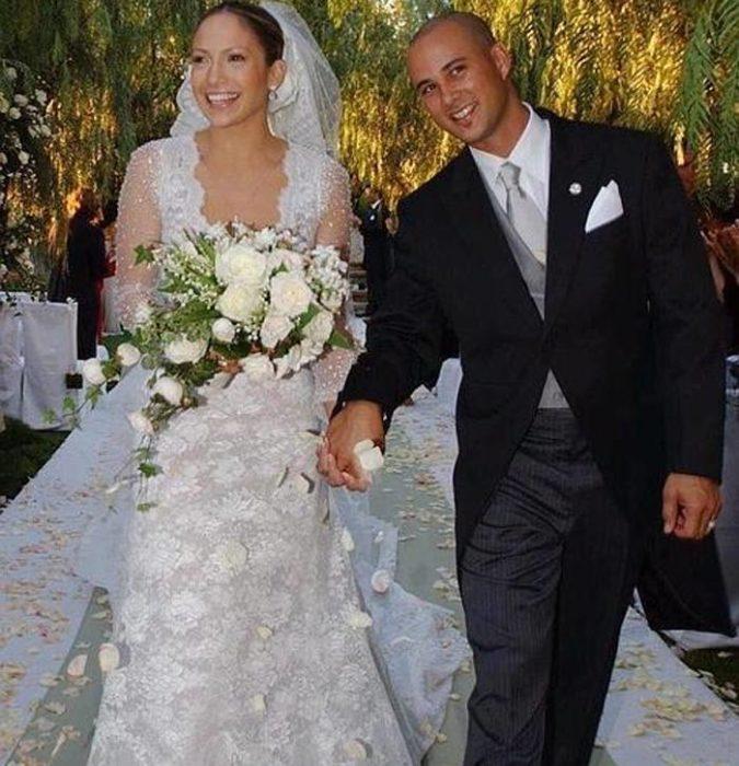 Jennifer López y Chris Judd