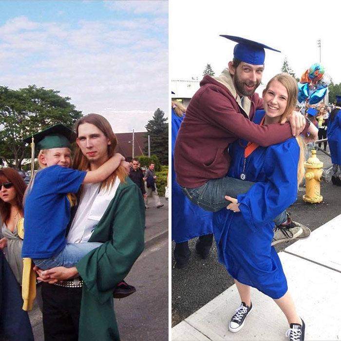 hermanos graduación