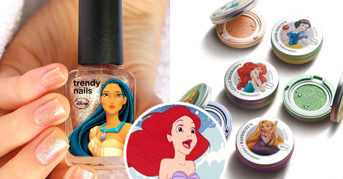 Lanzan nueva línea de maquillaje inspirada en las princesas Disney; y todas quieren compararla