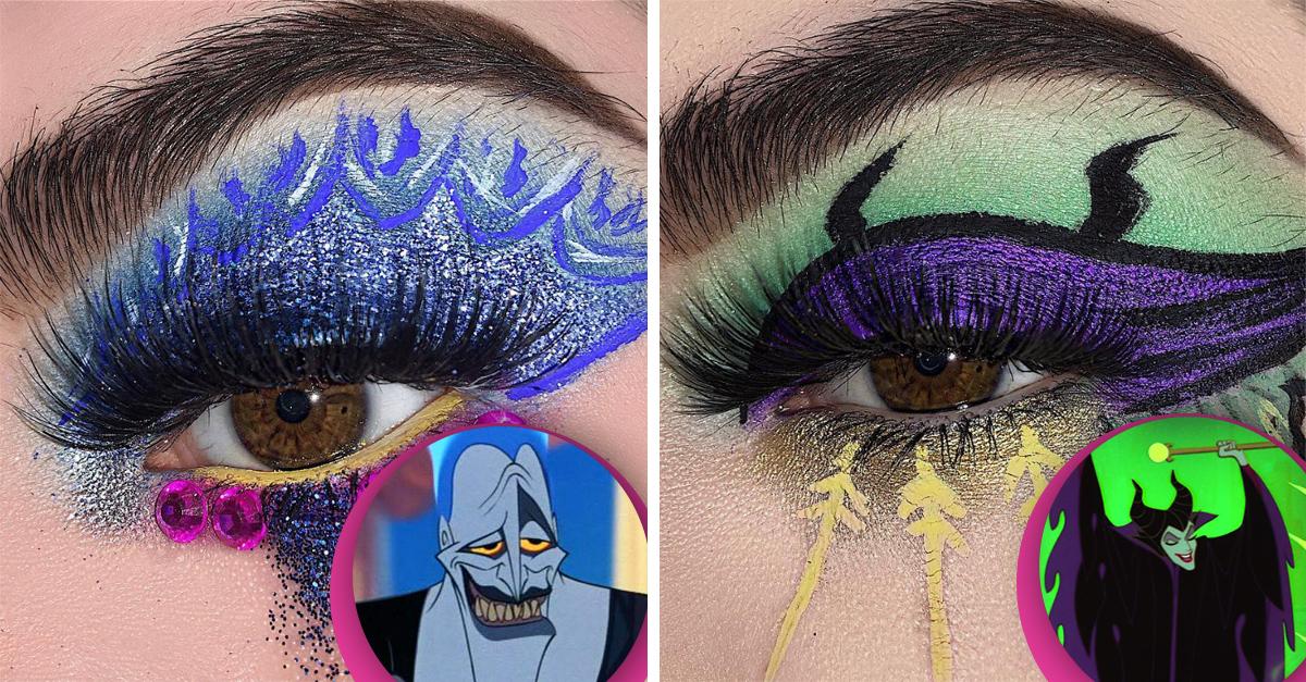 Desde Jafar hasta Scar y Ursula; esta maquillista se inspira en los villanos consentidos de Disney