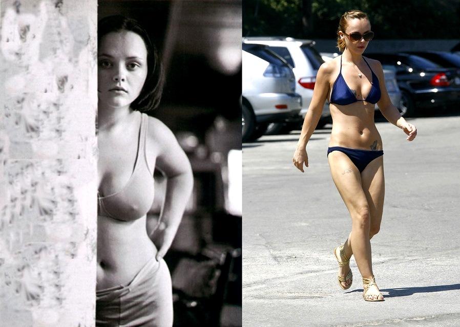 9ca2f3d40 Hubo rumores de que la actriz se había sometido a una cirugía en el 2001  para reducir sus senos