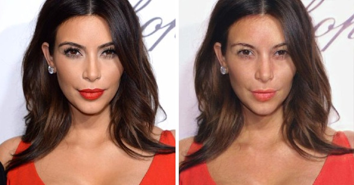 Conoce la aplicación que revela cómo se ven las celebridades con y sin maquillaje