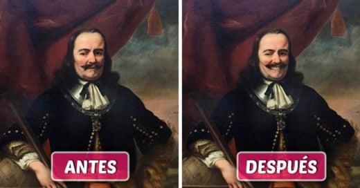 Este hombre le dio felicidad a algunas famosas obras de arte